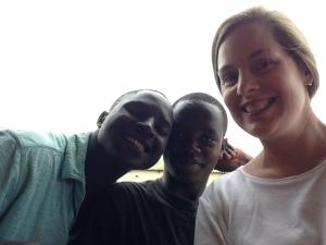 New friends -  boys from Mtendere Village