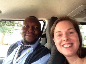 My driver for my time in Malawi, Mojo Hara