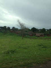 A village on the way to Lake Malawi