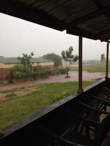 A rainy Sunday in Mtendere Village