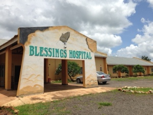 Blessings hospital, a hospital next to Mtendere Village where I would like to bring nursing students