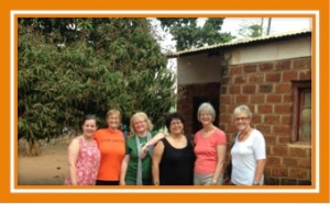 Debbie (Me-AL), MaryAnne (Peace Corps-Michagan), Katrin (Germany), Rachel (From Wisconsin, but after her Fulbright, moved to Malawi fulltime), Lynda (AL), Ros (UK)